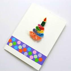 自制生日蛋糕贺卡的做法图解教程