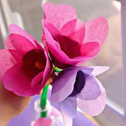幼儿园母亲节插花礼物手工制作教程