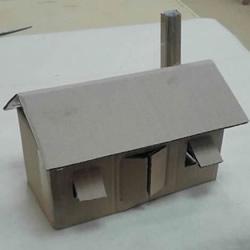 废纸箱手工制作儿童玩具房子的做法教程