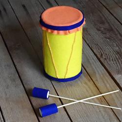 自制儿童玩具鼓的方法 好玩环保还不花钱!