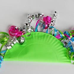 自制纸盘手摇铃的方法 简单好玩又漂亮!