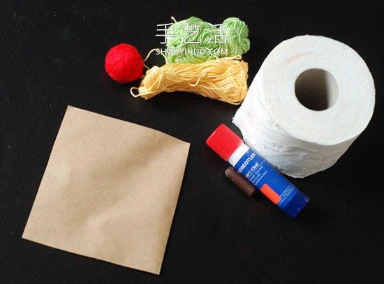 幼儿园手工制作冰激凌玩具的最简单方法 -  www.shouyihuo.com