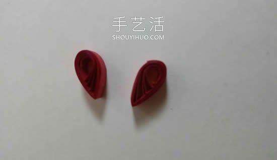 自制衍纸情人节贺卡的方法图解教程 -  www.mutamen.cn