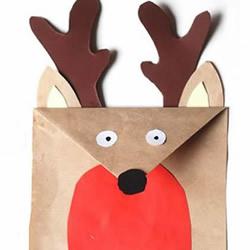 幼儿园手工制作纸鹿的做法教程