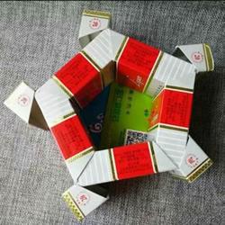 空烟盒废物利用 手工制作花朵烟灰缸/垃圾盒
