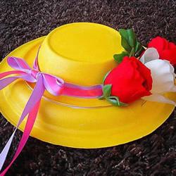 自制漂亮遮阳帽的方法 纸盘和纸碗就搞定!