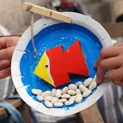 自制钓鱼玩具的方法 简单省钱又好玩!