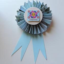 儿童手工制作纸徽章的做法教程