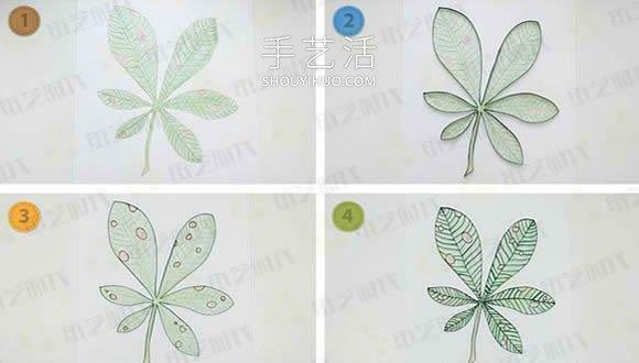 树叶和蚂蚁!简单又有趣的衍纸画DIY教程 -  www.mutamen.cn