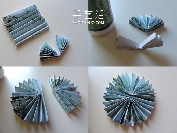 儿童手工制作纸徽章的做法教程 -  www.shouyihuo.com