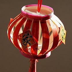 自制春节节日灯笼的方法 几个纸杯子就搞定!