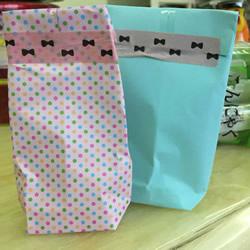 自制礼物袋的折纸方法图解教程