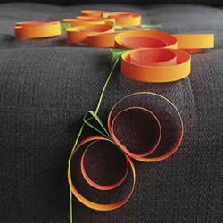 简单卡纸手工制作万圣节南瓜装饰的教程