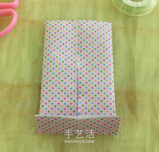 自制礼物袋的折纸方法图解教程 -  www.shouyihuo.com