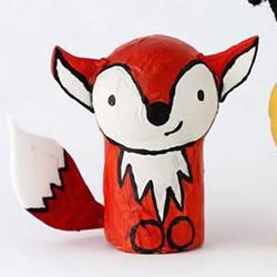 红酒瓶塞废物利用制作口袋玩偶的做法教程