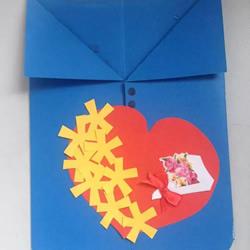 自制重阳节卡片的简单作品图片