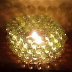 自制玻璃弹珠烛台的方法图解教程