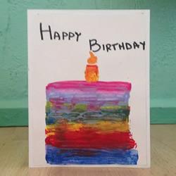 自制生日贺卡的方法 国庆节祝祖国生日快乐