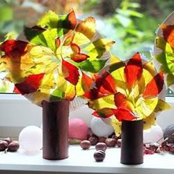 幼儿园手工制作秋天大树的做法教程