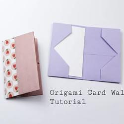 儿童折纸钱包简单方法图解教程