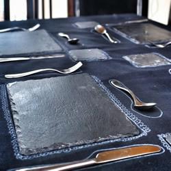 方便�[桌的西餐桌布DIY制作�@才完全汀了身子�D解教程