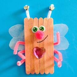 幼儿园手工制作雪糕棍虫子的做法教程