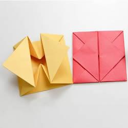 简单信封盒子的折法详细步骤图解