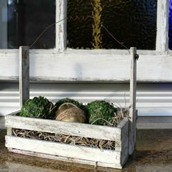板条箱改造DIY老旧复活节装饰的做法教程