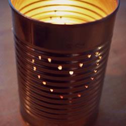 自制铁罐灯笼制作方法过程图解教程