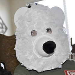 ��巫灾票�O熊面具的石�^方法�D解教程