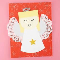 简单自制天使卡片的方法图解教程
