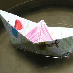 最简单小船的折纸方法步骤图解