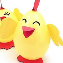 气球简单手工制作可爱小鸡的做法教程