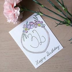 自制手绘生日卡片的方法图解教程