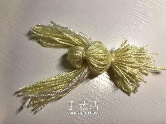 毛线手工制作小鸟的简单做法教程