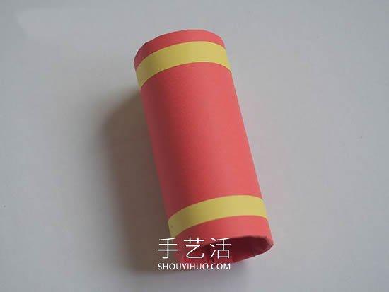 春���问止え�制作爆竹�b�的做法教程 -  www.shouyihuo.com