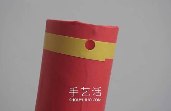 春���问止� 西制作爆竹�b�的做法教程 -  www.shouyihuo.com