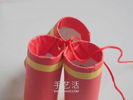 春���问止ぶ粕�轷r于家作爆竹�b�的做法教程 -  www.shouyihuo.com