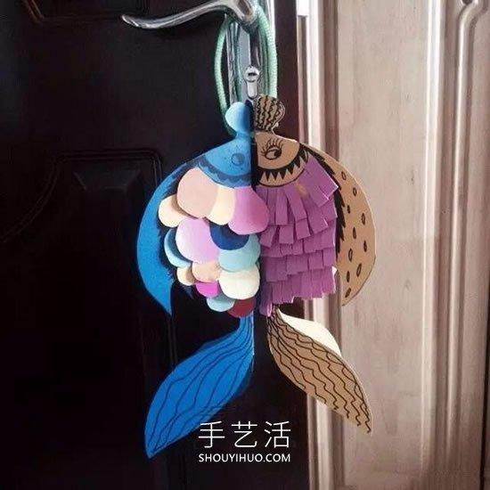 �和�手工制作年年有余�祜�的做法教程 -  www.shouyihuo.com