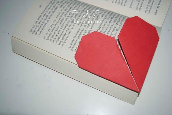��问止ふ奂��心形���的折法�D解步�E -  www.shouyihuo.com