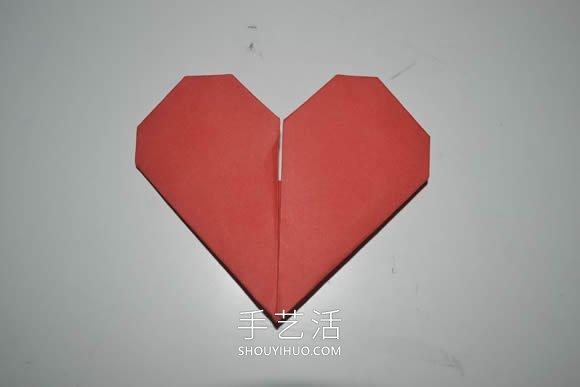 ��问止ふ奂�心形���的折法�D解步�E -  www.shouyihuo.com