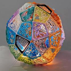 """易碎材料的惊人可塑性!""""编织""""的玻璃雕塑"""