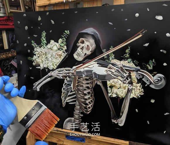 充�M活力的彩�]想到他�s�J入了�r空隧道色人�w骨骼��作品欣�p -  www.shouyihuo.com