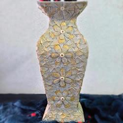 废物利用手工制作优雅花瓶的做法教程