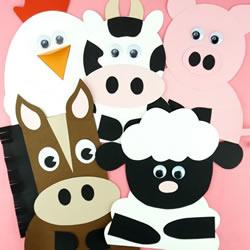 幼儿园手工制作农场动物的做法教程