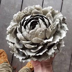 精美的手工瓷花!看起�硐裾嬲�的美��花朵