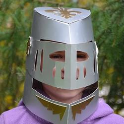 自制中世纪头盔的方法图解教程