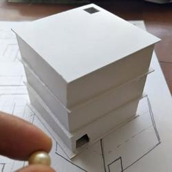 自制迷�m玩具盒子走珠的方法���D解