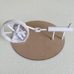 自制斯特林�l��C模型制作�^程��D�