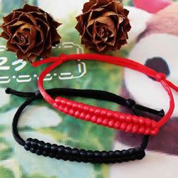 红绳手链编法图解教程简单含打结